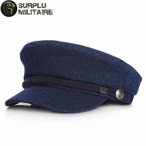 casquette militaire officer girl gris cat 1
