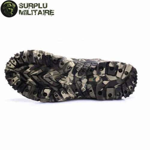 chaussures militaires boots digital camo 46 cat 1
