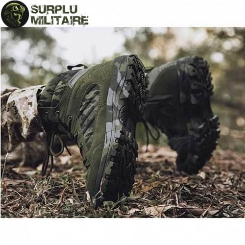 chaussures militaires boots green camo 46 acheter 1