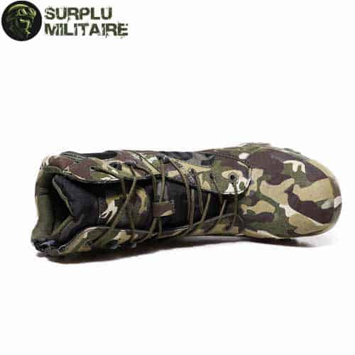 chaussures militaires boots jungle camo 47 cat 1