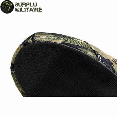 chaussures militaires low boots camo 40 cat 1