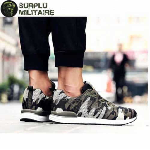 chaussures militaires sneakers classical camo 44 a vendre